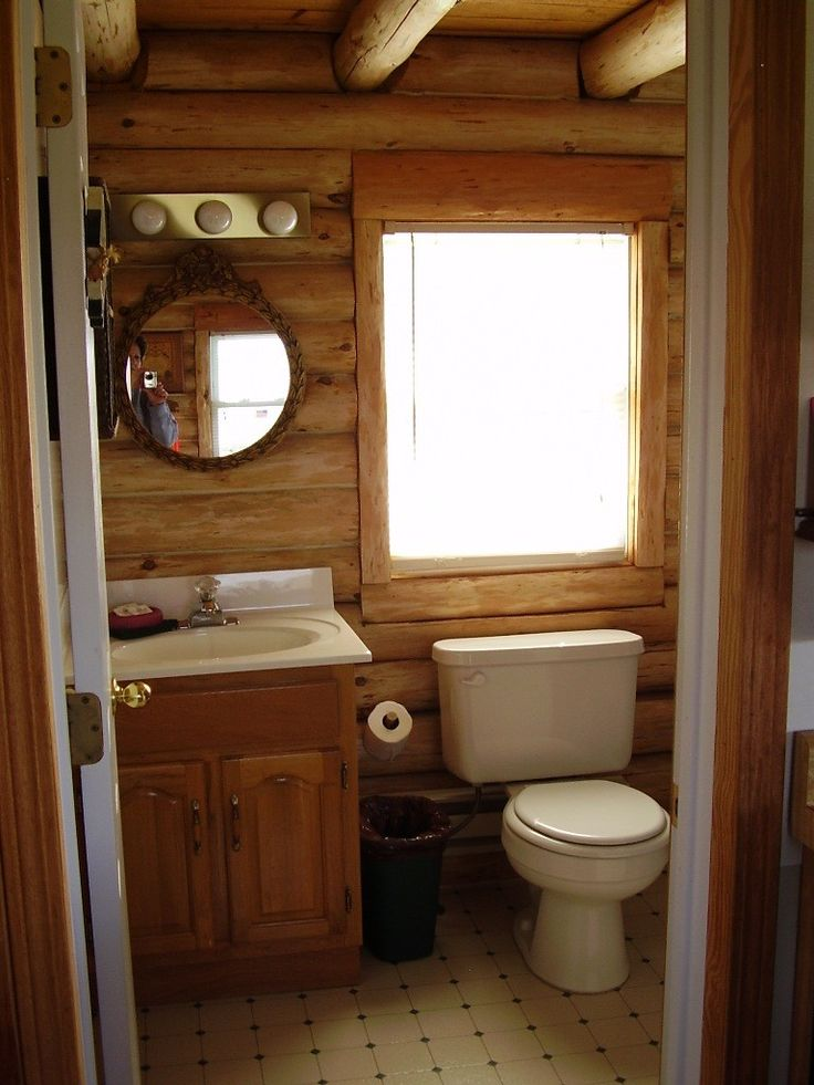 648 best images about home decorating ideas on pinterest for Small cabin bathrooms