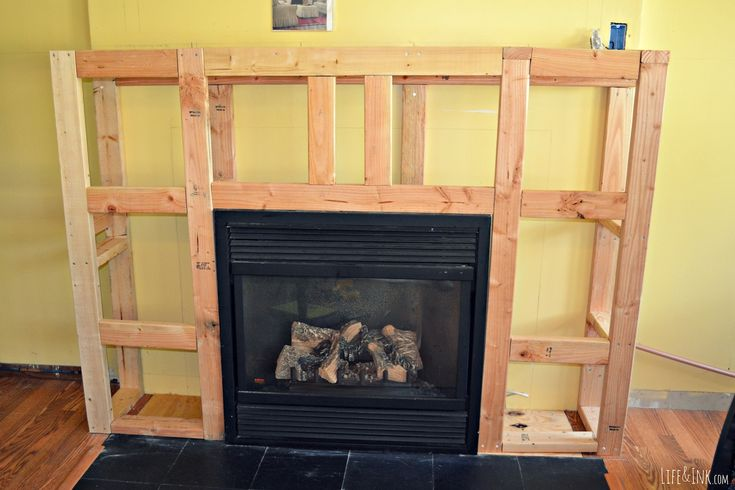 Framing Up A Fireplace How To Frame A Fireplace Surround