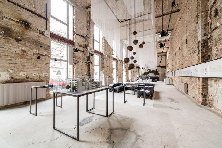 画廊 A SPACE :柏林米特区Loft售楼处 / plajer & franz studio - 6