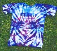 """How to Tie Dye.... really like the written instructions on color placement to avoid """"muddy"""" color"""