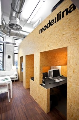 How to make 35 sqm out of 25 sqm? mode:lina architekci new office space.     #office #interior #design #mezzanine
