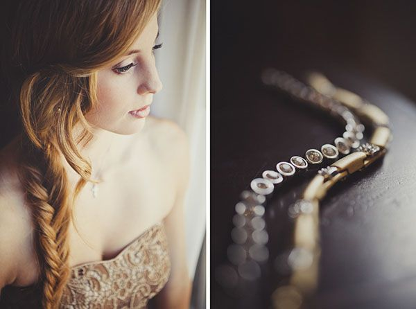 Love this bridesmaids' fishtail braid!  Photo by @Ameris Photography