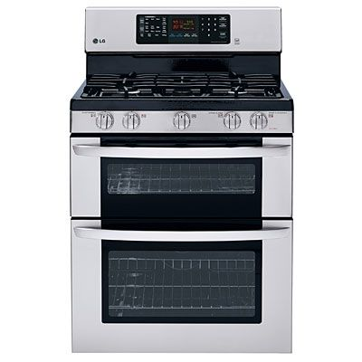 If you're looking for a new gas range, the LG Gas Double Oven Range Model #LDG3036ST is a top choice.