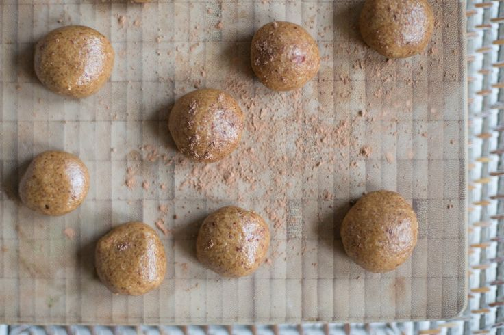 Peanut Butter Energy Bites | Madeline Shaw #GetTheGlow
