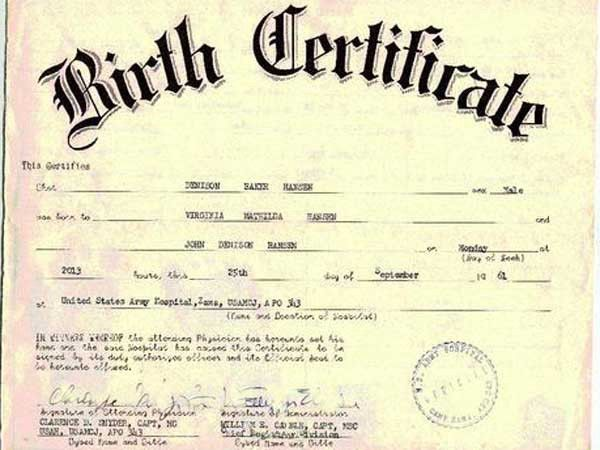 Need Your Birth Certificate Immediately? Worry Not! Superior Fake Degrees  Offers Authentic Looking Birth  Fake Birth Certificate Template Free
