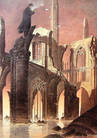 THE LAST PAGES by Francois Schuiten