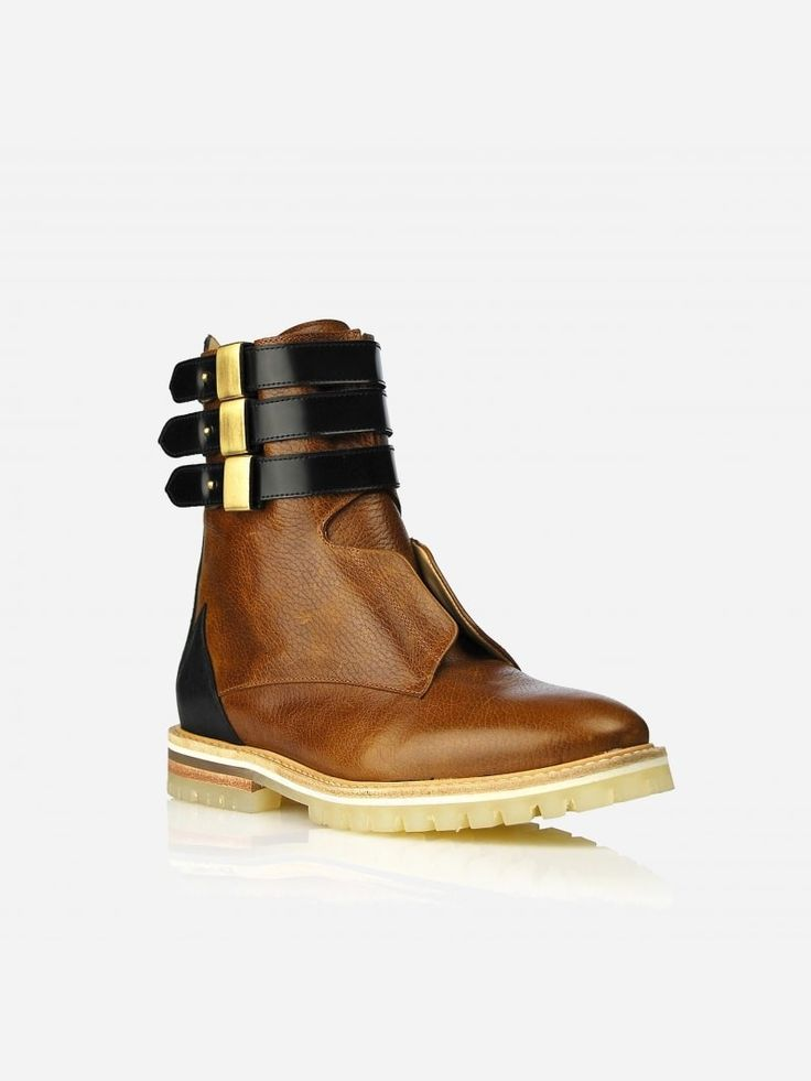 CAMEL ANKLE BOOT | JJ HEITOR