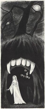 Dracula by Edward Gorey