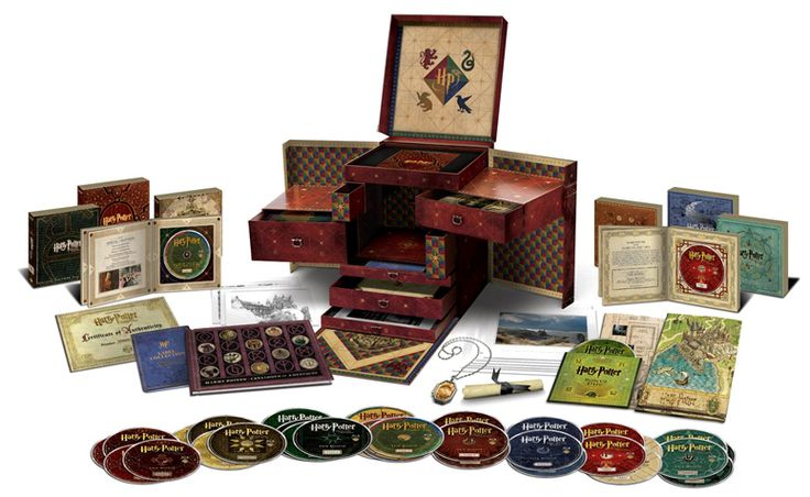 Harry Potter Wizard's Collection Box Set (Blu-ray, DVD and UV Copy) | The Most Ludicrous DVD/Blu-ray Box Sets Ever | Features | Empire