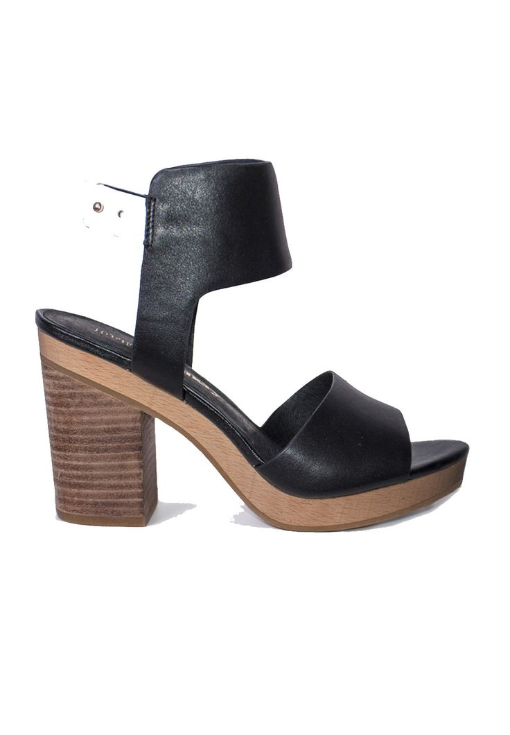 The Finery - Dept. Of Finery - Sarita Day Heels Black