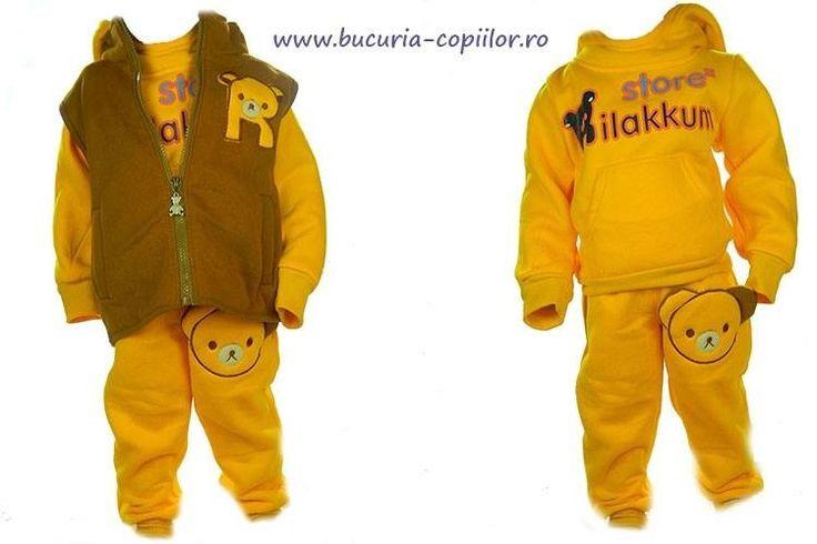 Bluze, seturi, tinute deja asortate pe site-ul nostru www.bucuria-copiilor.ro