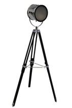 Zedhead Designs - Tripod Spotlight floor lamp Black