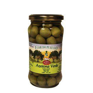 Heerlijke groene olijven uit Portugal. Lekker voor door salades, maalijden en als hapje.