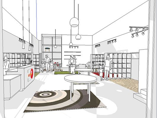 Retail Store Design Ideas shopping experience retail store design ideas Retail Store Ideas Kids Furniture Retail Store Interior Ideas By Deforest Architects