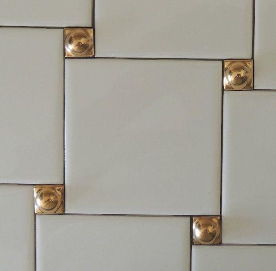 Image Result For Brass Tile Inserts Decorative Wall Tiles Decorative Tile Inserts Gold Tile