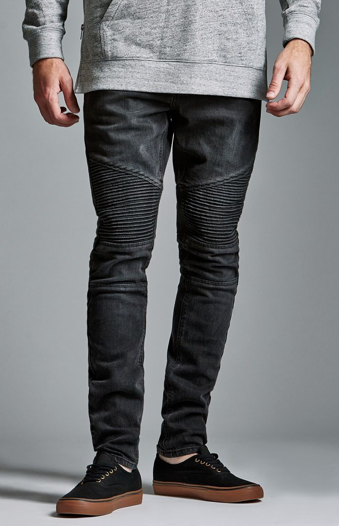 Black Ripped Skinny Jeans Men