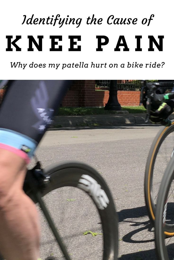 Why Does My Kneecap Hurt When Cycling Bicycle Workout Bike