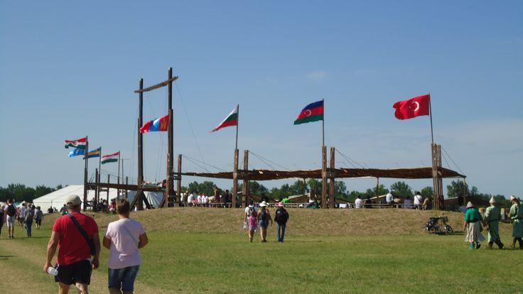 Kurultáj Tribal flags