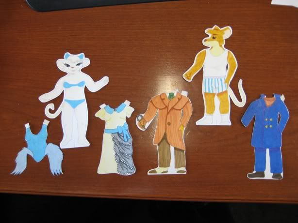Three Tiny Movie Things Rnd 2 - Great Mouse Detective paper dolls from jiasaykea