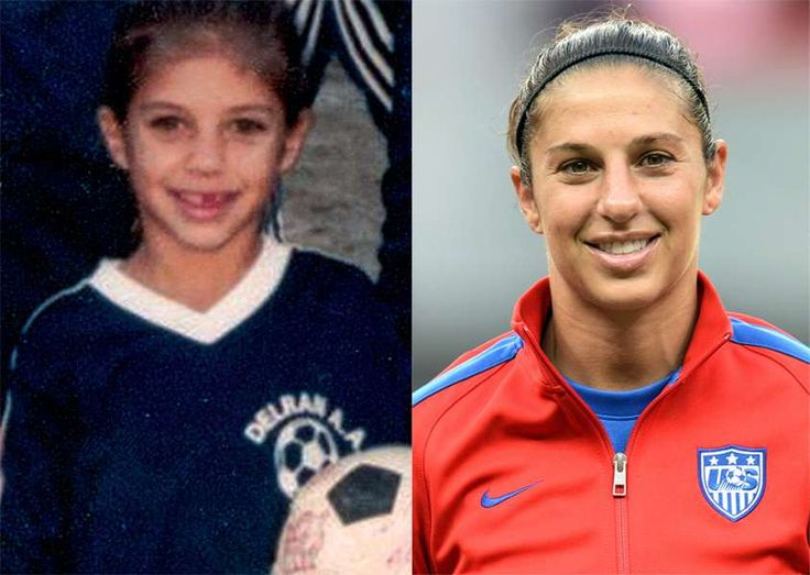 U.S. Soccer Women's National Team before they were stars   Sporting News