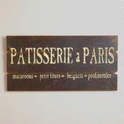 Patisserie a Paris Sign