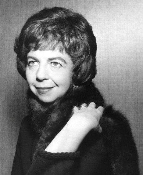Alice Pearce in 1965, at the height of her popularity with American TV viewers.  She was quite the opposite of her usual screen persona.