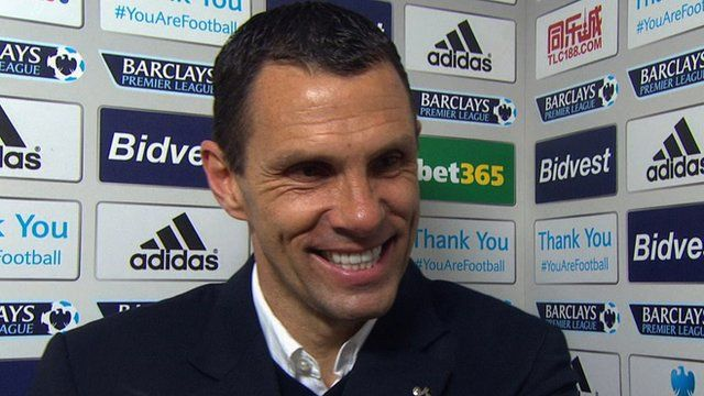 Gus Poyet: Sunderland boss calls for calm after Cardiff win - Article From BBC Website - http://footballfeeder.co.uk/news/gus-poyet-sunderland-boss-calls-for-calm-after-cardiff-win-article-from-bbc-website/