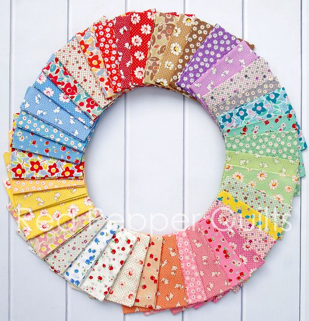Retro 30's Child Smile - Spring 2016 | Red Pepper Quilts
