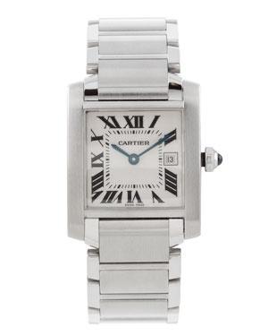 30th Birthday - Cartier Medium Tank Watch