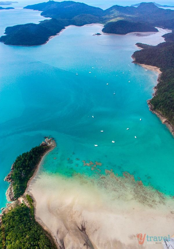 Don't miss the Whitsunday Islands in Queensland, Australia