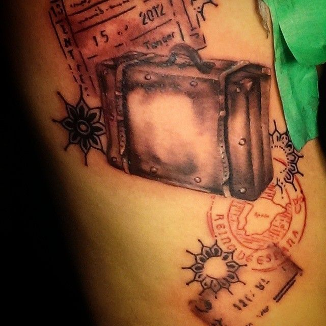 Perfect tattoos for travel lovers