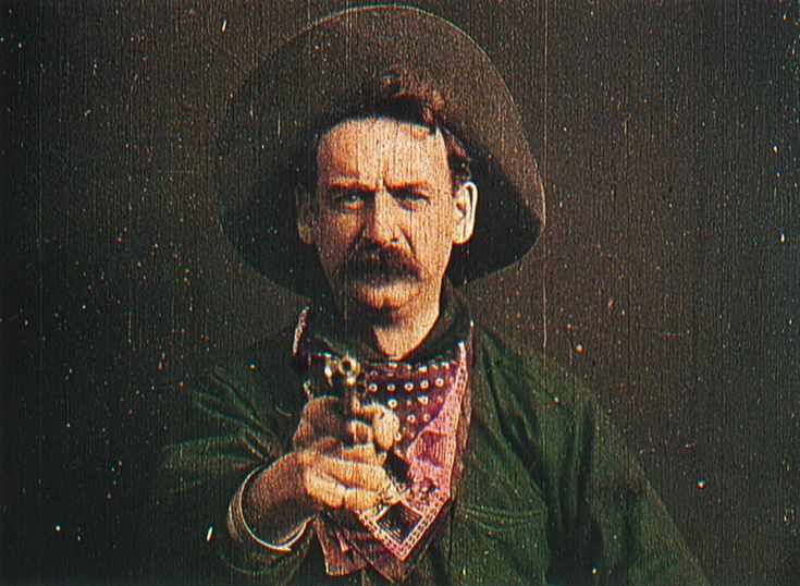"The Robber, ""The Great Train Robbery"" (1903)"