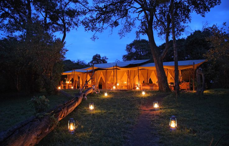 "The Luxury Naibor Private Retreat in Kenya: This must be ""glamping"" because my campsite doesn't look like this!"