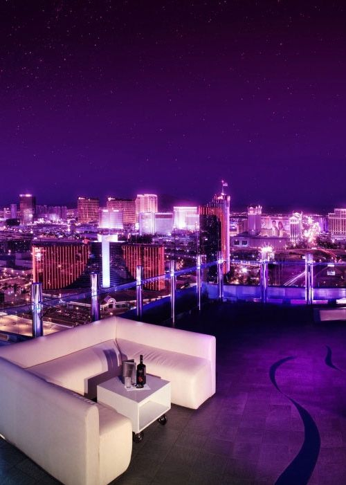 Roof top cocktails - The Palms, Las Vegas http://www.palms.com/nightlife