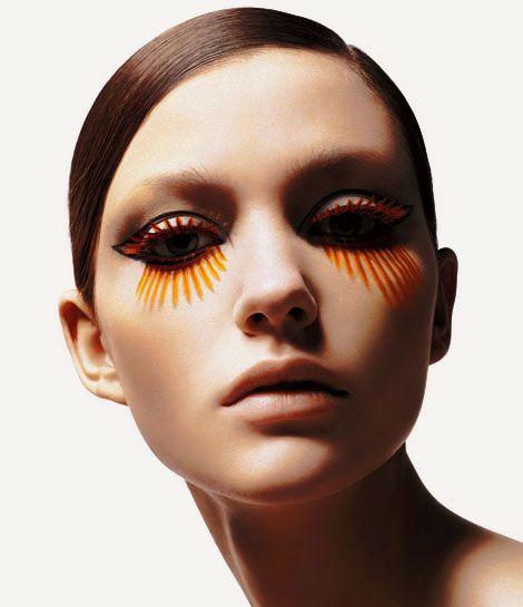 Kakuyasu Uchiide's Eyelash Creatures | PingMag : Art, Design, Life – from Japan