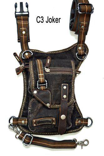 Amazon.com: U Koala Bag- - Motorcycle Bag, Hiking Bag, Activity Bag, Hip Bag, Fanny Pack, Shoulder Bag, Leg Bag, Waist Bag, Messenger Bag, T...
