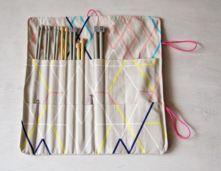 Si te gusta hacer punto o ganchillo, seguro que quieres tener las agujas bien organizada. ¡Esta idea es perfecta!