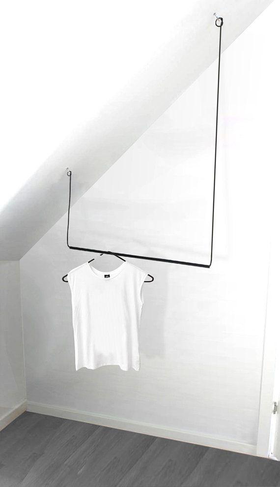 Flexible Hange Garderobe Kleiderstange Aus Metall Cloth Hanging Wardrobe Clothing Rack Metal Clothes Rack