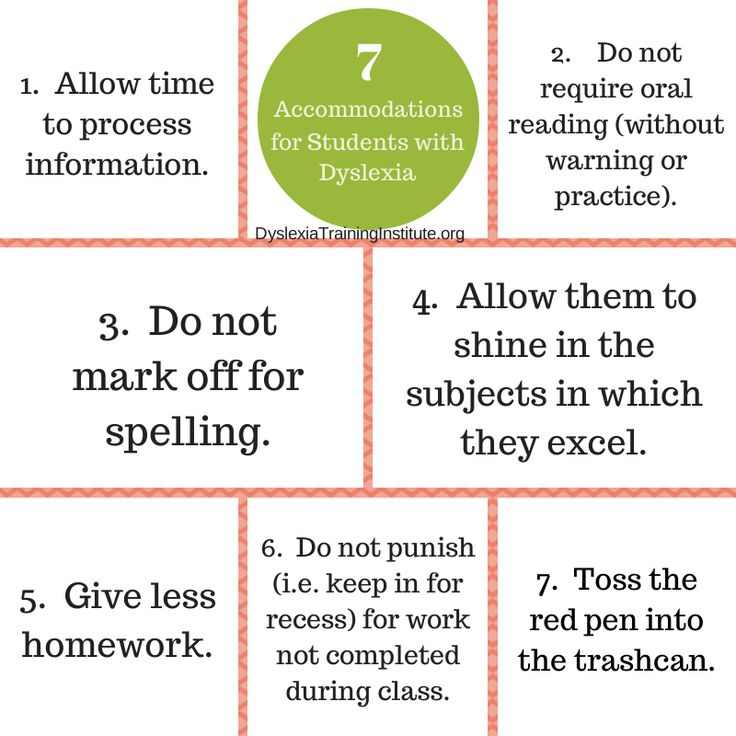 7 Accommodations to Help Students with Dyslexia