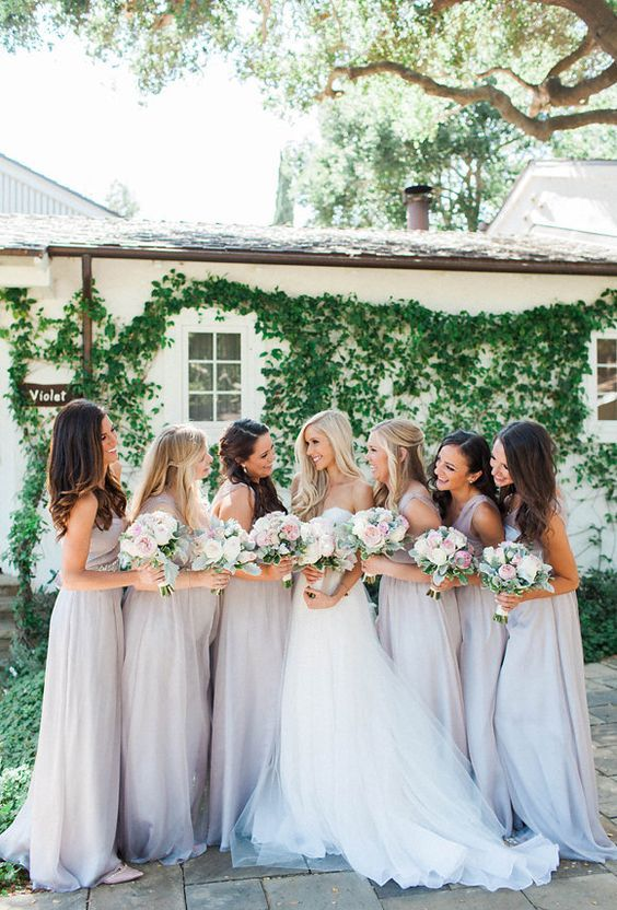 Lavender Wedding Bridesmaids-2