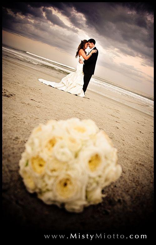 Florida beach wedding shot by Orlando wedding photographer Misty Miotto