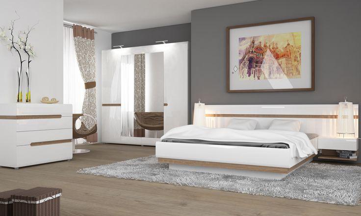 Piękna sypialnia dla miłośników  nieszablonowego designu ;)