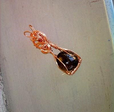 Smoky Quartz pendant #grounding #healingcrystal #jewelry #freeshipping in the US http://www.johnnasabri.com/