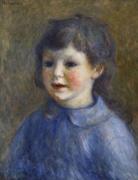 Pierre-Auguste Renoir - Portrait of Pierre Renoir, 1890.