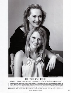 I had no idea she was Meryl Streep's daughter