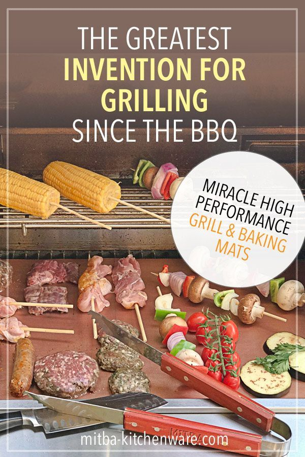 Copper Grill Mats By Mitba Best Baking Grilling Accessories Ever These Non Stick Reusable Magic Gadgets Will G Grilling Recipes Grilling Bbq Accessories