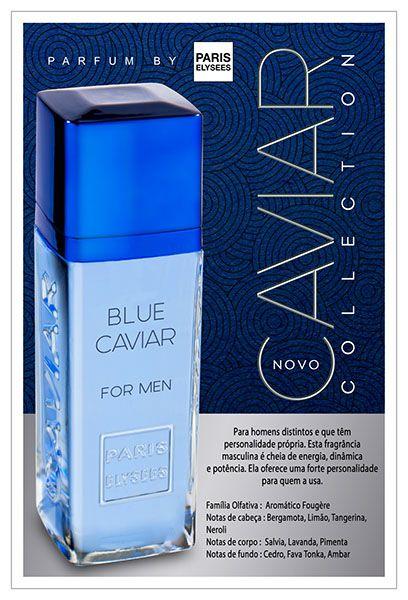 3395bc56c Blue Caviar Novas Fragrâncias Paris Elysees - Linha Caviar Collection  Inspiração Olfativa : Dolce & Gabbana
