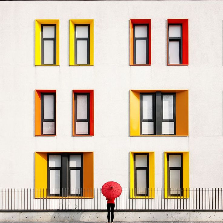 Istanbul's Colourful Minimalist Architecture by Yener Torun #inspiration #photography