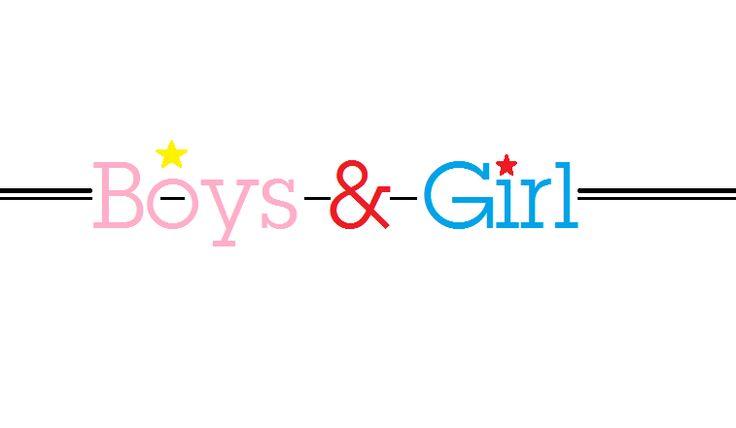 """Logo """"boys and girl """" by xpli6t tshirt"""