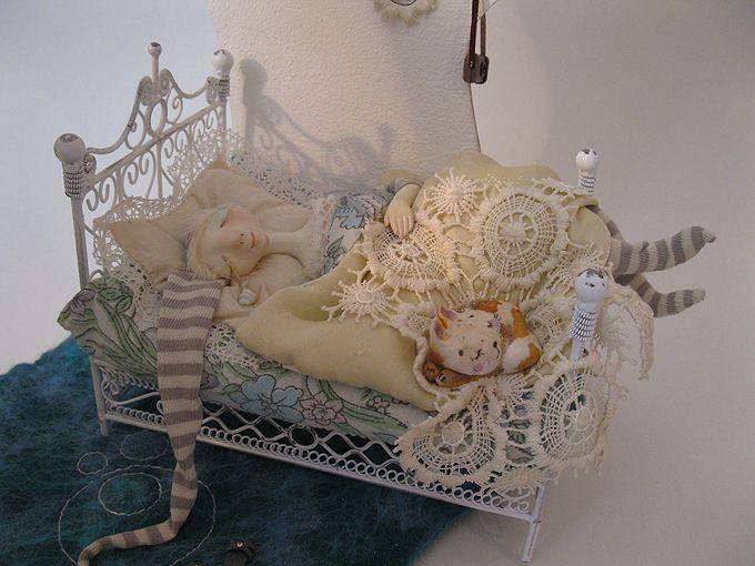 Авторские куклы и игрушки Алисы Баженковой